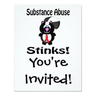 Substance Abuse Cards, Photocards, Invitations & More