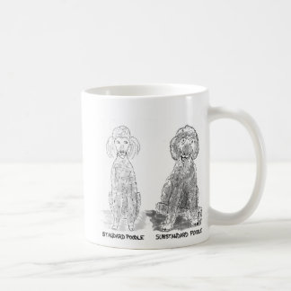 Substandard poodle coffee mug