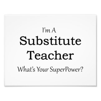 substitute Teacher Art Photo