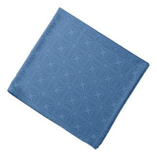 Subtle Blue Crisscross Geometric Pattern Bandana