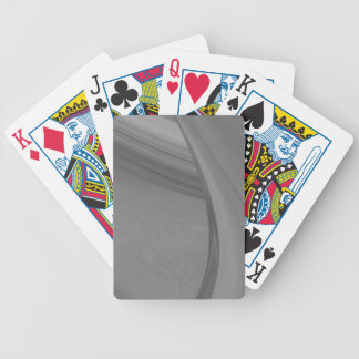 Subtle Charcoal Bicycle Playing Cards