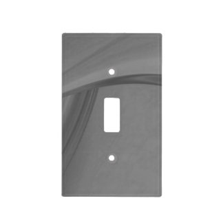 Subtle Charcoal Light Switch Cover