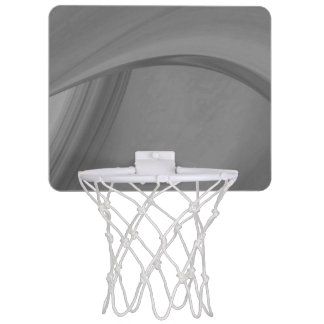 Subtle Charcoal Mini Basketball Hoop