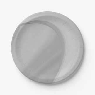 Subtle Charcoal Paper Plate