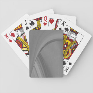 Subtle Charcoal Playing Cards