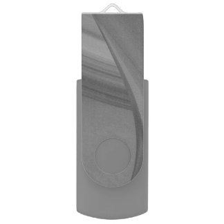 Subtle Charcoal Swivel USB 2.0 Flash Drive