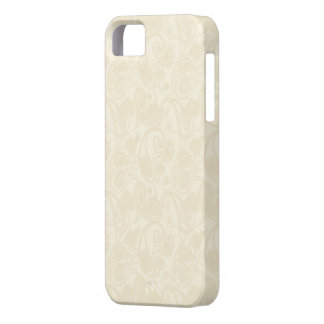 Subtle Cream Henna Mehndi Paisley iPhone 5 Case