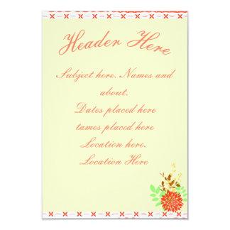 subtle Hawaiian Card