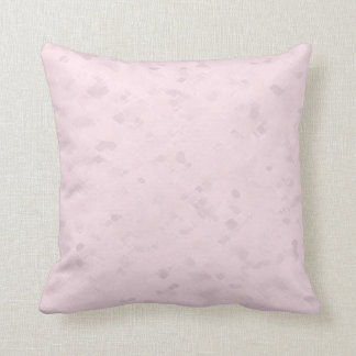 Subtle Light Pink Pattern Throw Pillow
