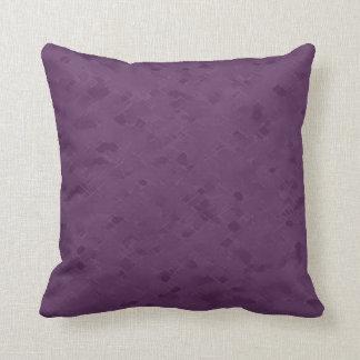 Subtle Mauve Pattern Throw Pillow