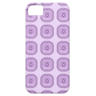 Subtle modern lilac/ purple flowers iPhone 5 cover