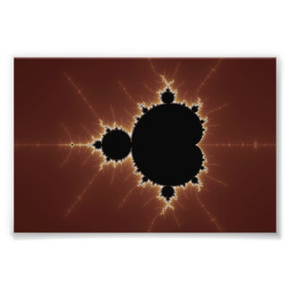Subtle Power Fractal Photo Print