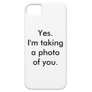 Subtle Stalker iPhone 5 Cover
