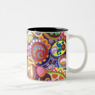 Subtle Undertone Two-Tone Coffee Mug