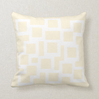 Subtly Square Pillow/Cushion Vers 1 Squares Throw Pillow