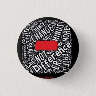SUBTRACT Code Words 1 Inch Round Button