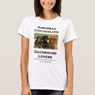 Suburban Chicagoland Dachshund Lovers T-Shirt