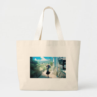 Suburban Girl Large Tote Bag