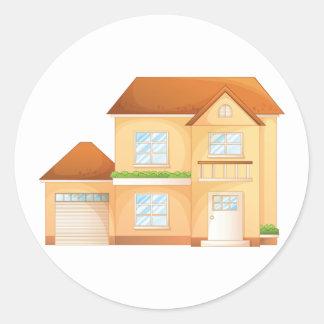 Suburban House Stickers