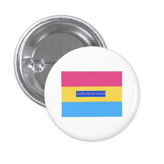 Subversivism 1 Inch Round Button