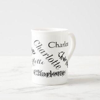 Subway Art Name Bone China Specialty Mug