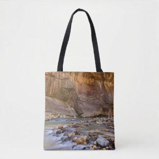 Subway in Zion, Utah Tote Bag