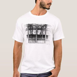 Subway Platform (33rd #6 line) by Fred Gates T-Shirt