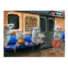 Subway Rats Postcard