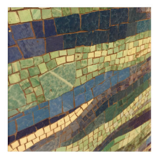 Subway Tile Abstract Art