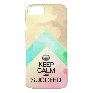 Succeed Colorful Watercolor layers Case-Mate iPhone Case