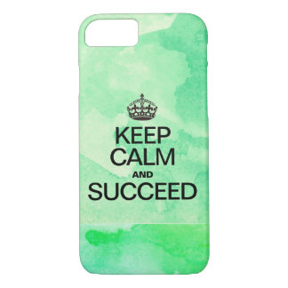 Succeed Colorful Watercolor Texture greens Case-Mate iPhone Case