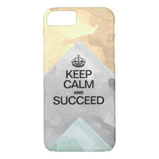 Succeed Colorful Watercolor Texture layers Case-Mate iPhone Case