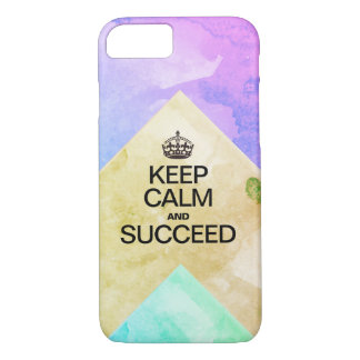 Succeed Colorful Watercolor Texture layers iPhone 8/7 Case