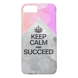 Succeed Watercolor Layers iPhone 8/7 Case