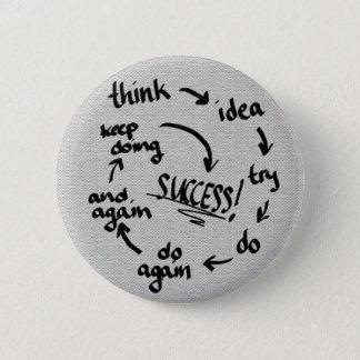 Success 2 Inch Round Button
