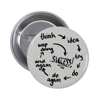 Success 2 Inch Round Button