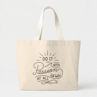 Success Attitude Inspirational Quote Dreams Goals Large Tote Bag