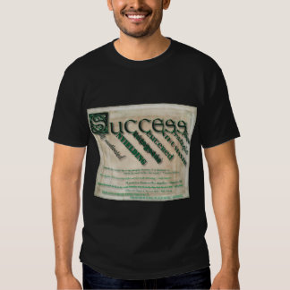 Success - Black Tee (Can be customized!!)