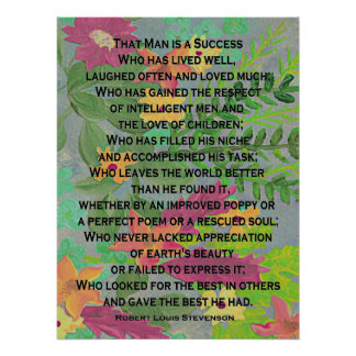 success by Stevenson Poster
