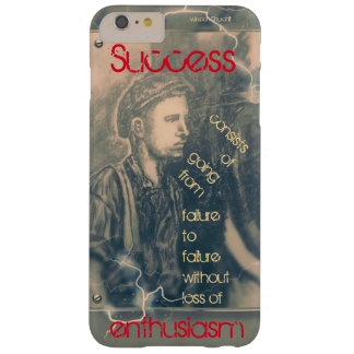Success by Winston Churchill Barely There iPhone 6 Plus Case