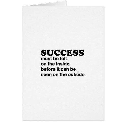 Success Greeting Cards