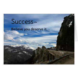 Success... Greeting Card