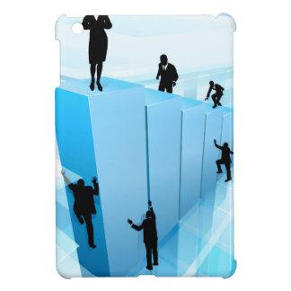 Success Concept Business People Silhouettes iPad Mini Cases