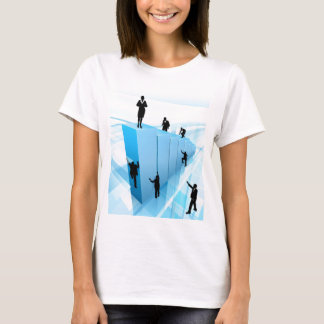 Success Concept Business People Silhouettes T-Shirt