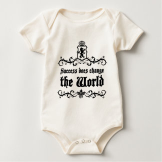 Success Does Change The World Medieval quote Baby Bodysuit