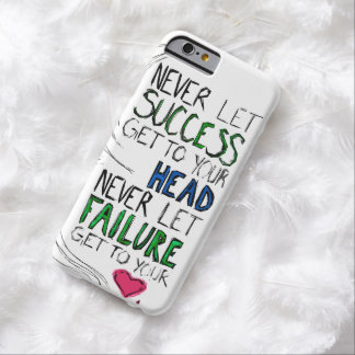Success & Failure Barely There iPhone 6 Case