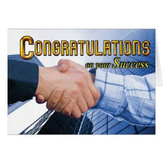 Success Greeting Card