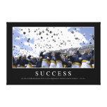 Success: Inspirational Quote Canvas Print
