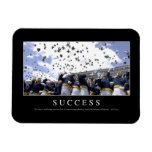 Success: Inspirational Quote Magnet