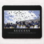 Success: Inspirational Quote Mouse Pad